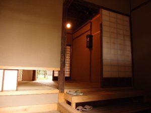 四畳の間入り口側