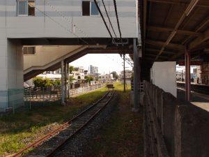 南大塚駅ホーム