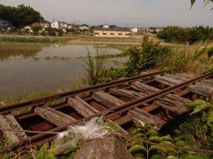 用水路にかかる橋