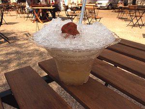 梅酒かき氷