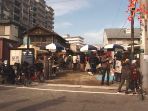 旧川越織物市場前