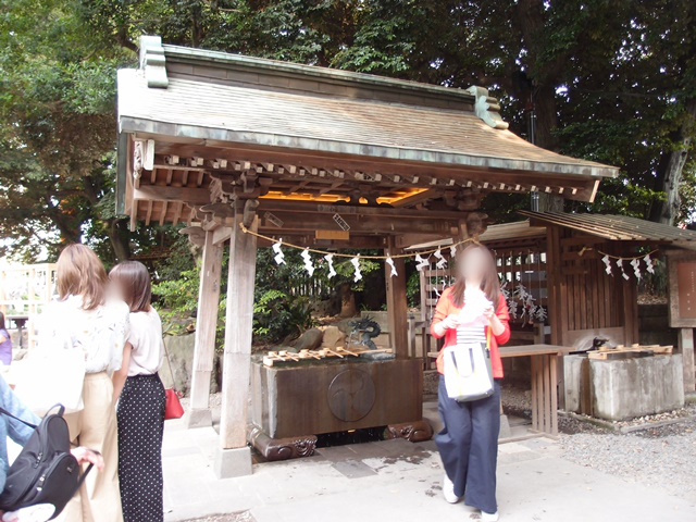 The Kawagoe Hikawa-jinja shrine of marriage- where the chimes of the furin (wind chimes) and the tai (red snapper) mikuji (fortunes) bring about good luck in love.