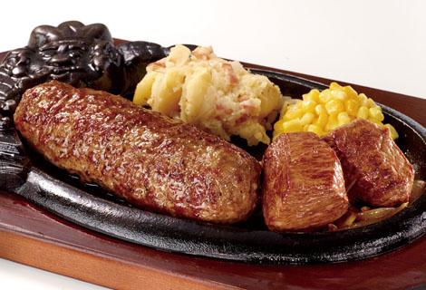 ブロンコビリー肉