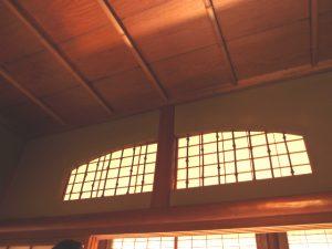 塗り残し窓