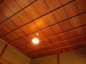 市松網代天井