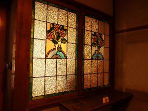 準備室のステンドグラス