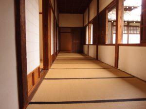 家老詰所 廊下