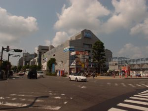 """Hon Kawagoe Station"" East Plaza Area"