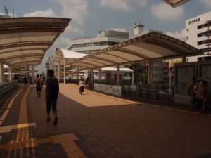 """Kawagoe Station"" West Exit Rotary Area"