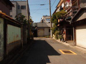 普通の住宅街
