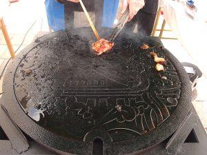 マンホール焼肉