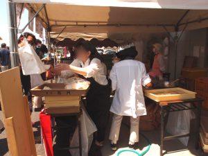 菓匠右門のお客様感謝祭 いも恋フェスタの盛況振りが凄い