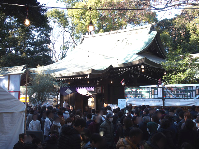 正月の小江戸川越 歴史ある神社仏閣は参拝客で大賑わい