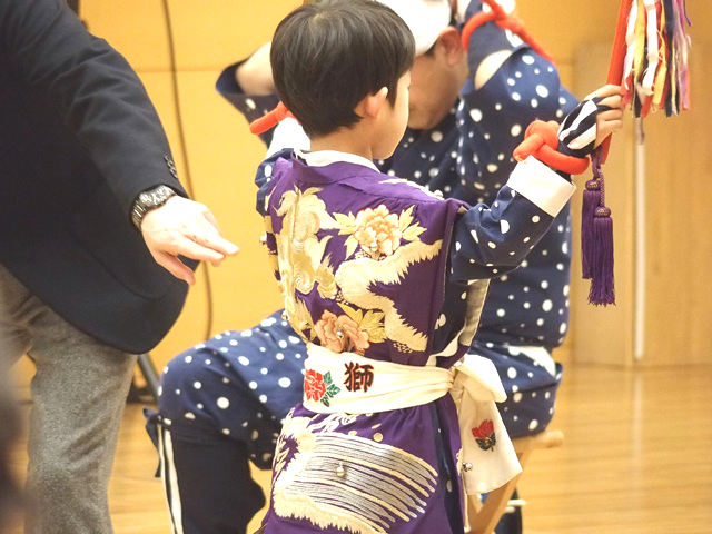 "What is Kawagoe's folk art ""Ishiwara no Sasara Shishimai?""  It's a spring tradition that has carried on into the next generation!!"