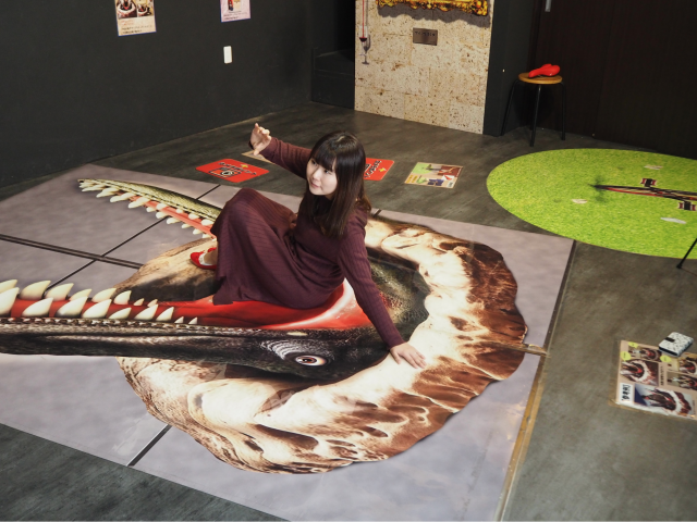 "Let's take Instagram photos at Kawagoe ""Trick 3D Art in COEDO"" !"