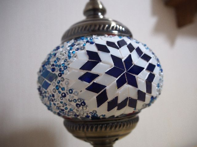 "Let's make a Turkish Lamp at Kawagoe ""Turkish Bazaar""! One work in the world"