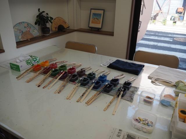 川越で染色・染物体験。染色工房稲木で子供にも人気の伝統工芸を楽しもう