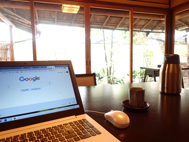 川越の料亭 山屋でリモートワーク|「緑のリモートオフィス」プラン体験